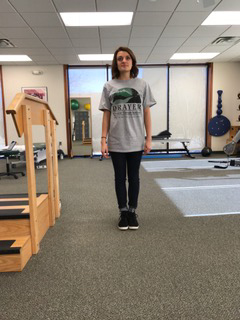 Rhomberg Stance Eyes Open - Drayer Physical Therapy