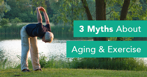 3 Myths About Exercise & Aging - Drayer Physical Therapy Institute