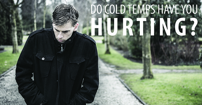 Why do i hurt more when it's cold outside?