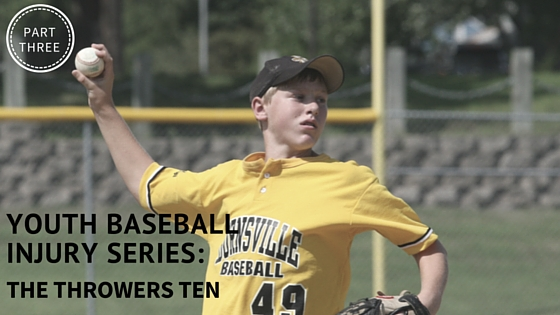 reducing youth baseball injuries with the throwers ten program