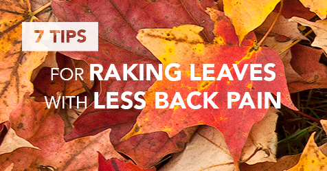 7 Tips for Raking Leaves with Less Back Pain