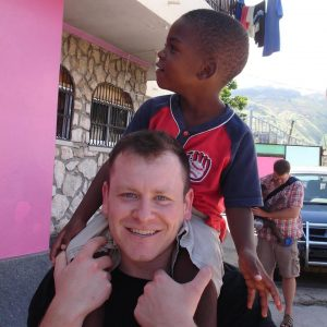 Steve Wentz serving in Haiti - Drayer Physical Therapy