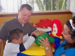 Steve Wentz serving in Mexico - Drayer Physical Therapy
