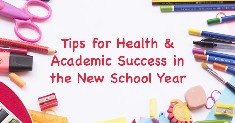 New Student Health Tips - Drayer Physical Therapy