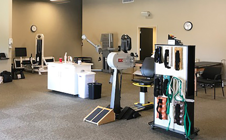 Drayer Physical Therapy in Ardmore, AL Equipment