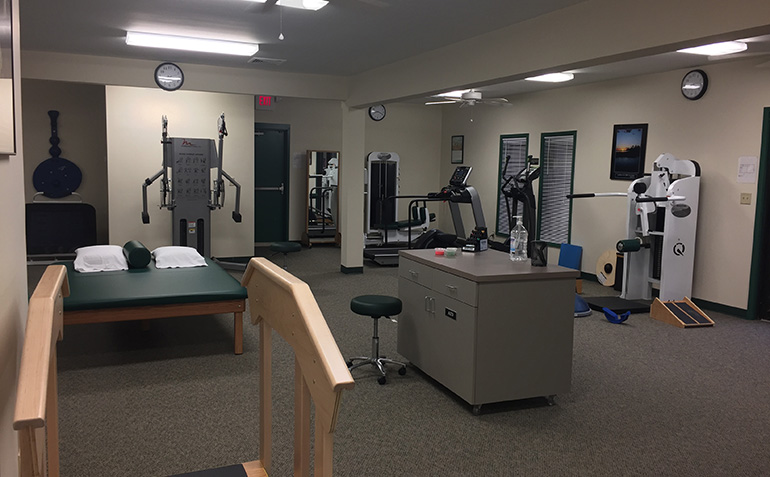 Drayer Physical Therapy in Florence, AL Clinic Interior