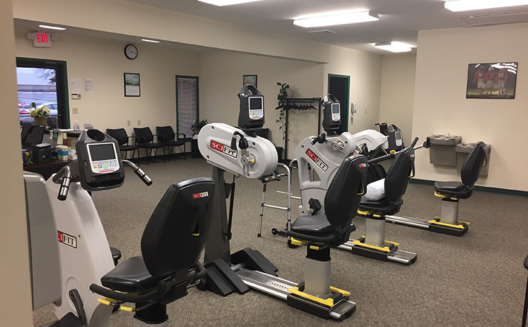 Drayer Physical Therapy in Florence, AL Exercise Equipment