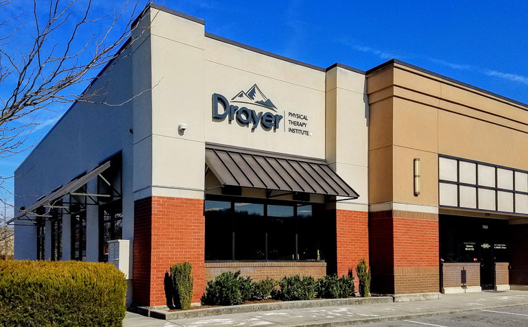 Knoxville Karns TN Drayer Physical Therapy Clinic Exterior