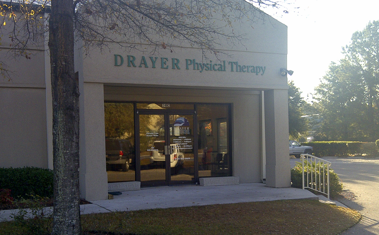 Bluffton Physical Therapy Clinic Exterior