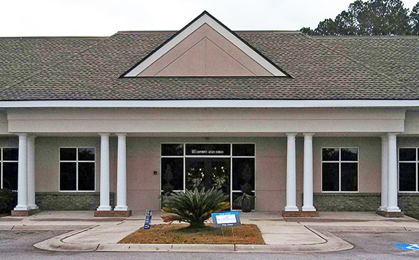 Bluffton Okatie Physical Therapy Clinic Rear