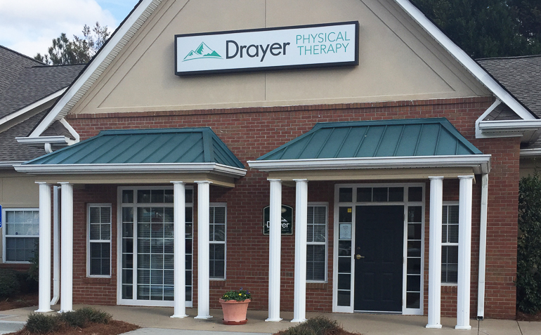 Dallas GA Drayer Physical Therapy Clinic Exterior