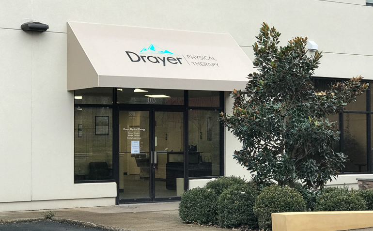 Charlottesville VA Drayer Physical Therapy Clinic Front