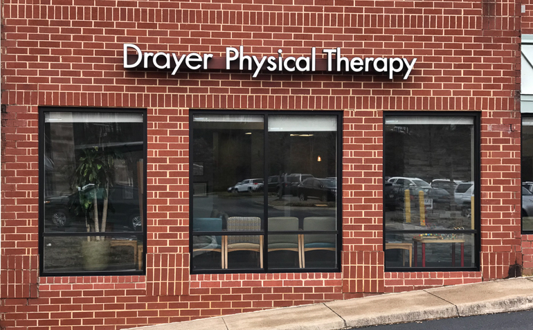 Charlottesville VA Drayer Physical Therapy Clinic Side