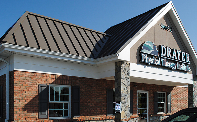 East Petersburg PA Drayer Physical Therapy Clinic Exterior