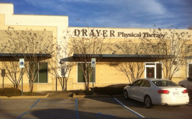 Gardendale AL Drayer Physical Therapy Clinic Exterior