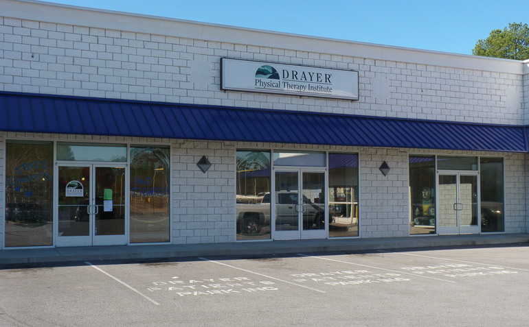 Gordonsville TN Drayer Physical Therapy Clinic Exterior