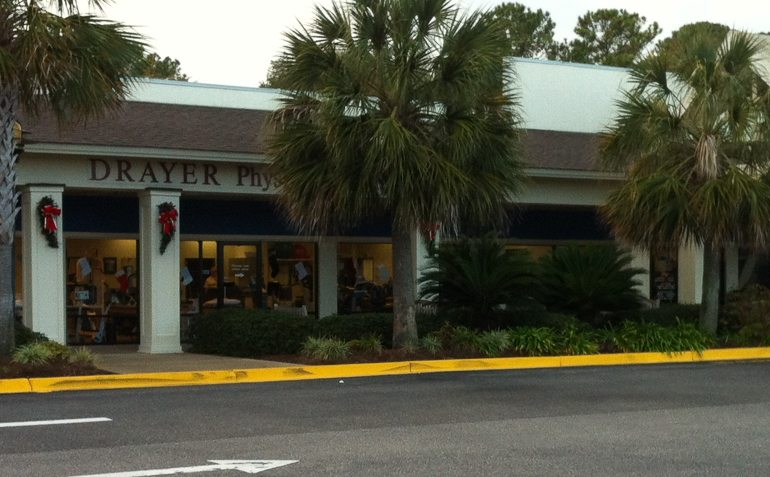 Hilton Head Drayer Physical Therapy Clinic Exterior