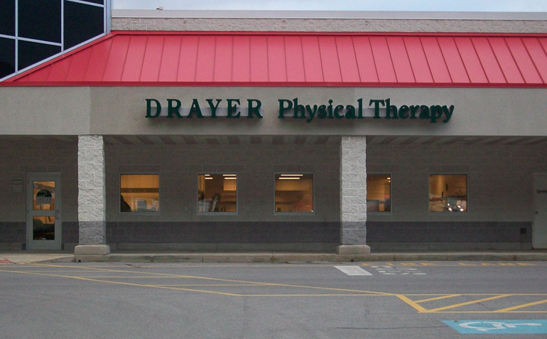 Huntingdon PA Drayer Physical Therapy Clinic Exterior
