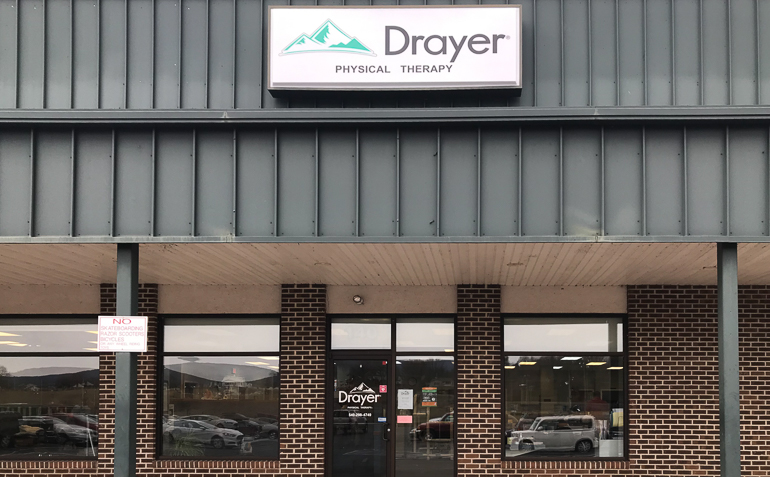 Elkton VA Drayer Physical Therapy Clinic Exterior