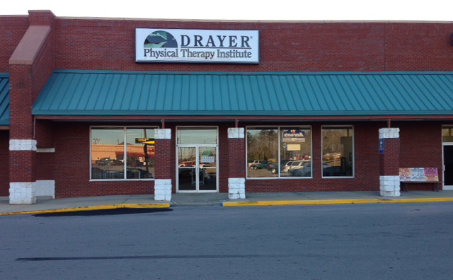 Jasper MS Drayer Physical Therapy Clinic Exterior