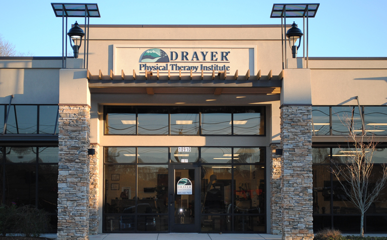 West Knoxville TN Drayer Physical Therapy Clinic Exterior