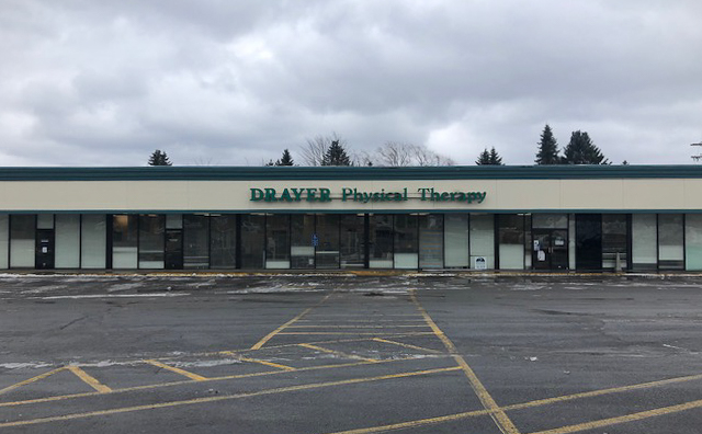 Clearfield PA Drayer Physical Therapy Clinic Exterior