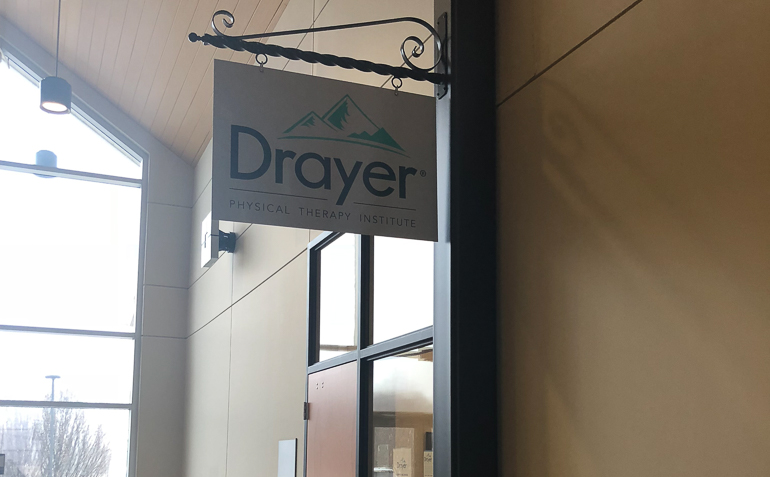 Shippensburg PA Drayer Physical Therapy Clinic Sign