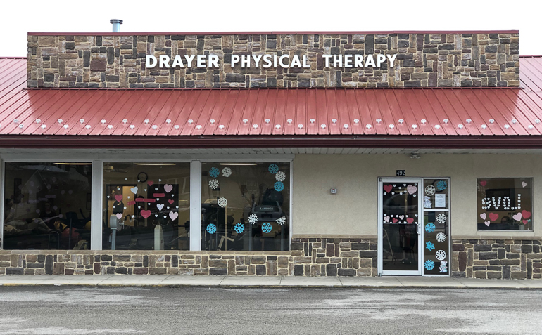 Red Lion PA Drayer Physical Therapy Clinic Exterior