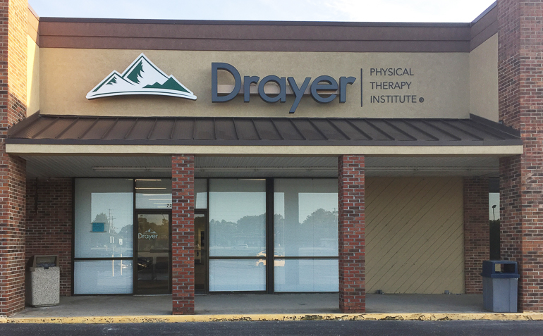 Lexington SC Drayer Physical Therapy Clinic Exterior