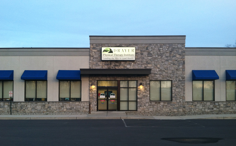 Mechanicsburg PA Drayer Physical Therapy Clinic Exterior
