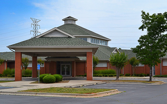 Tuscumbia AL Drayer Physical Therapy Clinic Exterior
