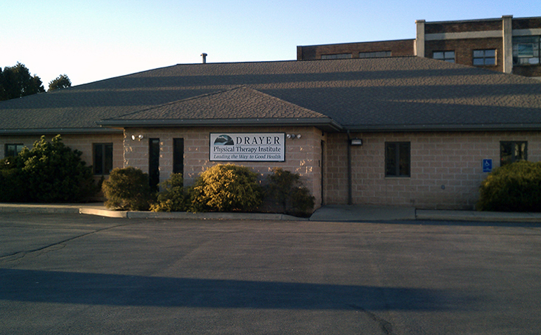 Philipsburg PA Drayer Physical Therapy Clinic Exterior
