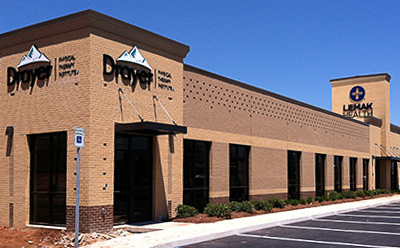 Prattville AL Drayer Physical Therapy Clinic Exterior