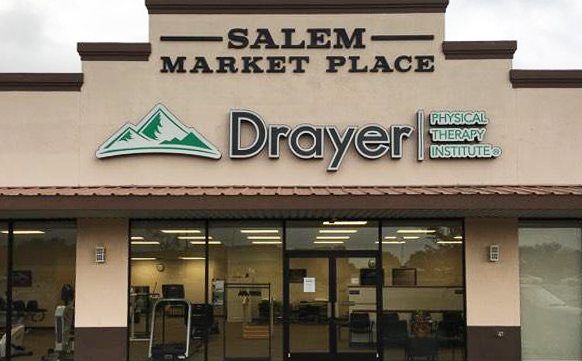 Salem OH Drayer Physical Therapy Clinic Exterior
