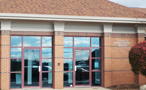 Sugarcreek Township OH Drayer Physical Therapy Clinic Exterior