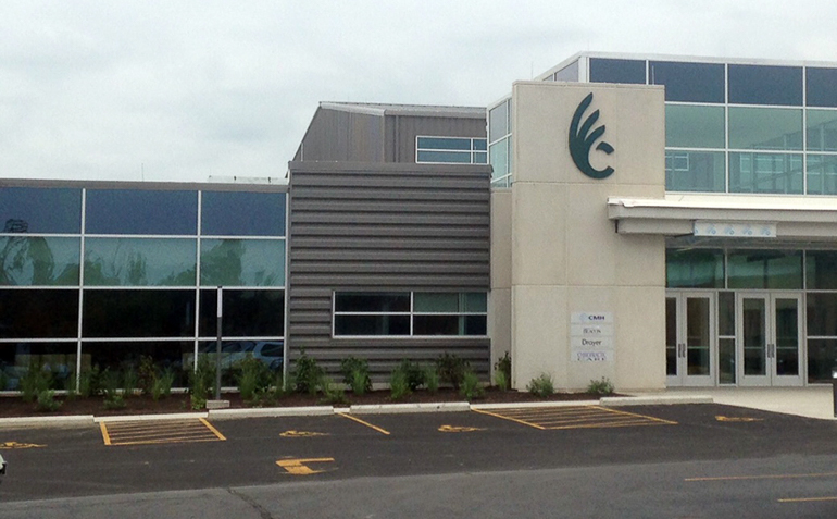 Wilmington OH Drayer Physical Therapy Clinic Exterior