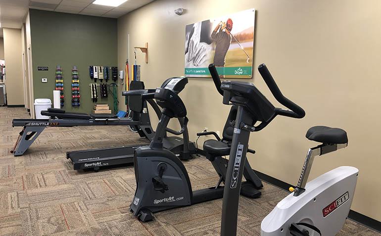Lynchburg VA Drayer Physical Therapy Clinic Interior