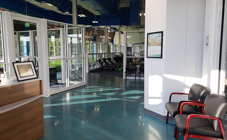 Drayer Physical Therapy, Hoover, AL (Finley Center) Inside Entrance