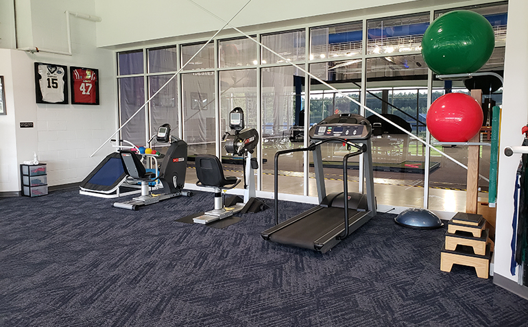 Drayer Physical Therapy, Hoover, AL (Finley Center) Exercise Equipment