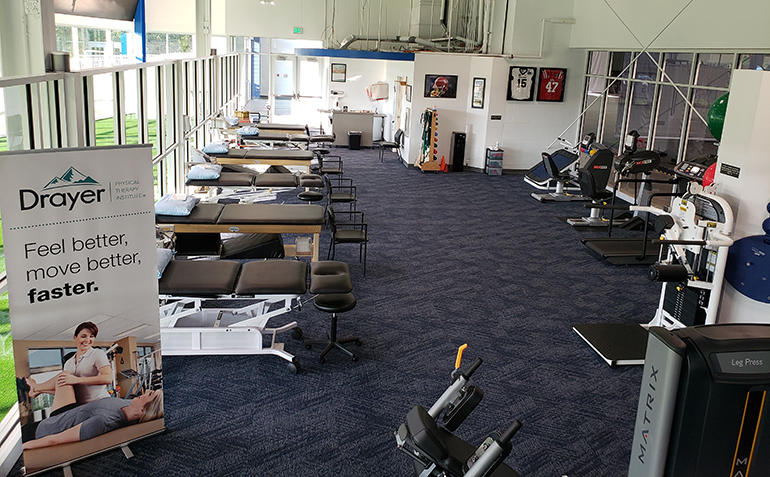 Drayer Physical Therapy, Hoover, AL (Finley Center) Facility