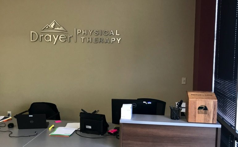 Drayer Physical Therapy in Lawrenceburg, IN Reception Area