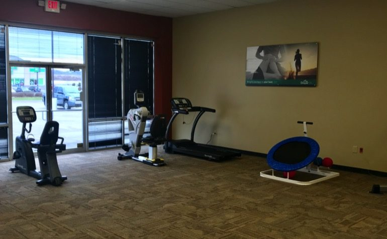Drayer Physical Therapy in Lawrenceburg, IN Exercise Equipment