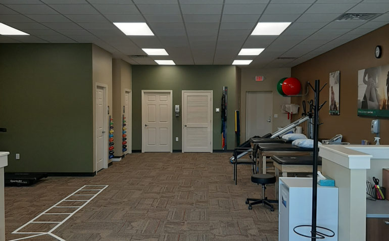 Drayer Physical Therapy in Northport, AL Clinic Interior