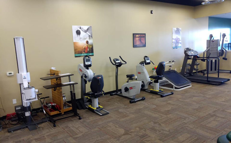 Drayer Physical Therapy Chambersburg PA Clinic Exercise Machines