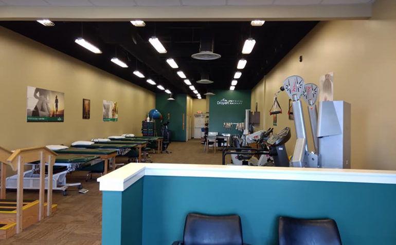 Drayer Physical Therapy Chambersburg PA Clinic Interior
