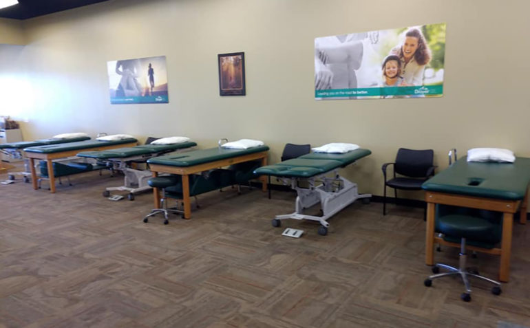 Drayer Physical Therapy Chambersburg PA Treatment Area