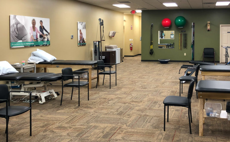 Dryaer Physical Therapy Fredericksburg Interior
